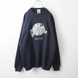 PLANET HOLLYWOOD monotone sweat-shirt