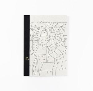 【オリジナルツバメノート】町田洋イラストカバーA5サイズノート(A)