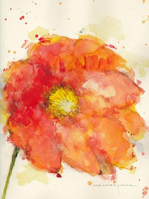 Flower 2 (額縁付き)
