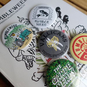 【TUMBLEWEED】MIXED BADGE SET (TW1701)