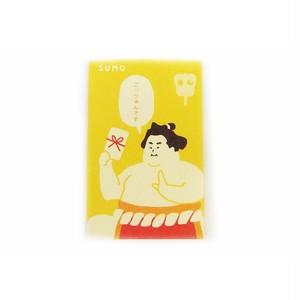 美濃和紙 ポチ袋  NIPPON SUMO 相撲3枚入り VP202-1812