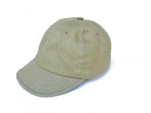 KASZKIET (カシュケット) LINEN CAP ベージュ