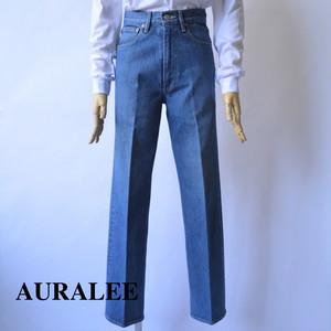AURALEE/オーラリー ・WASHED HARD TWIST DENIM 5P PANTS LIGHT INDIGO