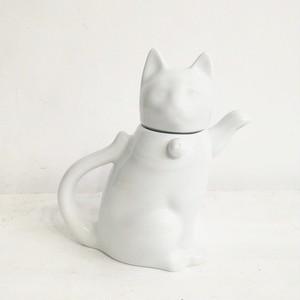 VINTAGE / 猫ティーポット