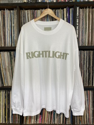 R.L. Long Sleeve T-shirt / White...