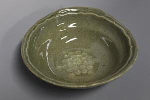 唐津灰釉三島タタラ小鉢