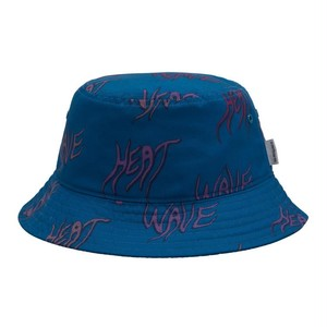 【Carhartt WIP】 HEAT WAVE BUCKET HAT - Heat Wave Print, Shore カーハート ハット 帽子