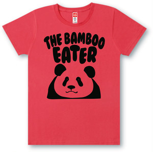 #466 Tシャツ BAMBOO/RED
