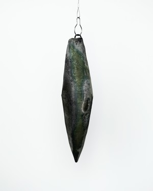 Etsuji Noguchi / 緑青 壁掛け花入れ