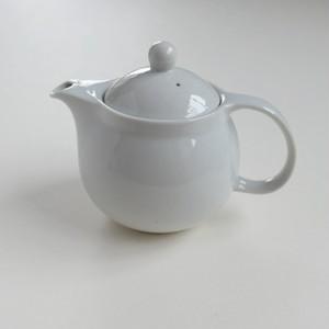 [NO.017] 九谷の白 ティーポットS / Kutani White Tea Pot S / Showa Era