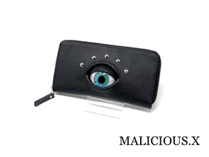 【オーダー品】eye wallet / blue