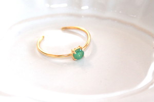 SP - rare stone - 2way Ear Cuff & Open Ring