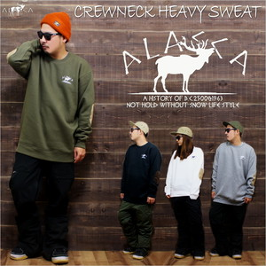 RM Crewneck Heavy Sweat/moose as-67