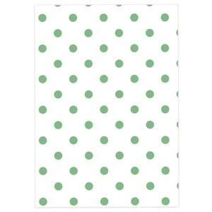 石の素材ハクアを使ったデザインペーパー[グリーンセット] A4サイズ 20枚