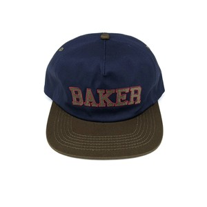 BAKER SKATEBOARDS - Oscar Navy/Green Snapback