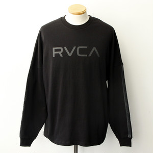 【RVCA】 BIG RVCA LS (BLACK)