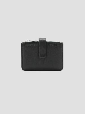 MAISON MARGIELA Four Stitch Zip Wallet Forest S55UI0301