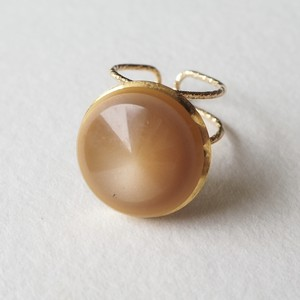 298.Vintage button ring