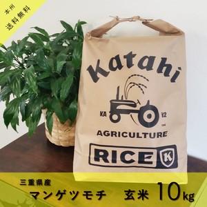 ◆もち米10kg◆令和2年三重県産マンゲツモチ玄米10㎏◆
