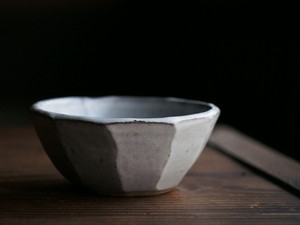 丹波立杭焼 俊彦窯 4寸面取小鉢