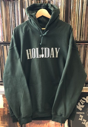 holiday hoodie green