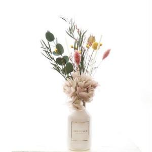 カラーリリーの香り×Pink flower【フラワーディフューザー】ギフト 贈り物 誕生日 インテリア 花 誕生日 母の日ギフト