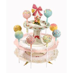 ケーキポップススタンド/リボン&レースTalking Tables(トーキングテーブル)