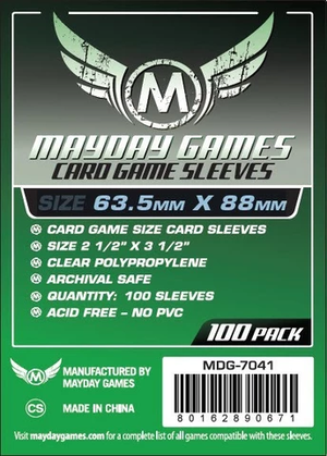 【スリーブ】Card Game Card Sleeves 63.5x88 100枚 / mayday games