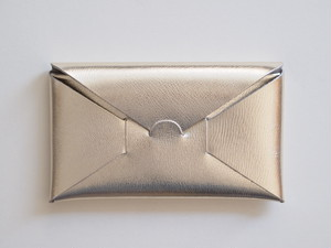 【i ro se】SEAMLESS LONG WALLET 長財布 SILVER