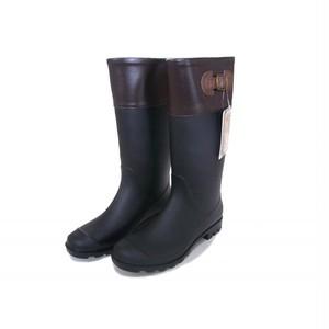 ジョッキーレインブーツ ブラック 24.5〜25cm gsz08851bk-1802