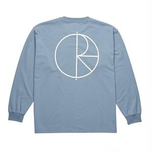 POLAR SKATE CO. Stroke Logo Longsleeve Captain's Blue M PSC ポーラー ロング Tシャツ