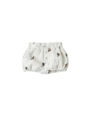 《Rylee + Cru 2018AW》sparrow button short / ivory / 18-24M