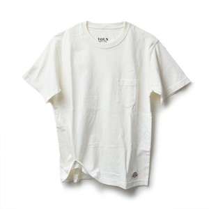 VOLN × CRAFTSMAN CREW NECK POCKET T-SHIRT(OFF WHITE)