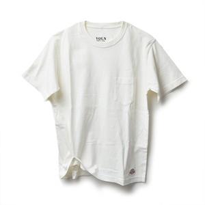 VOLN × CRAFTSMAN CREW NECK POCKET T-SHIRT(OFF WHITE)