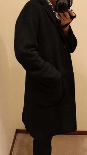 hevo Chesterfield Coat Conversano Black
