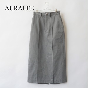 AURALEE/オーラリー ・WASHED FINX LIGHT CHINO SKIRT