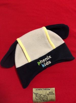 2000's ウサ耳 kids fleece cap