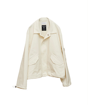 RYO TAKASHIMA × BEST PACKING STORE VENTILE FLIGHT JACKET Ivory