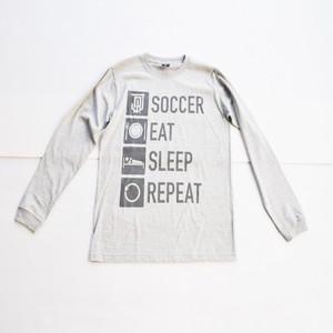 AWJ Life style long T shirt / gray