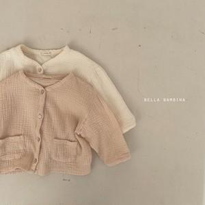 【予約販売】soft cardigan〈BELLA BAMBINA〉