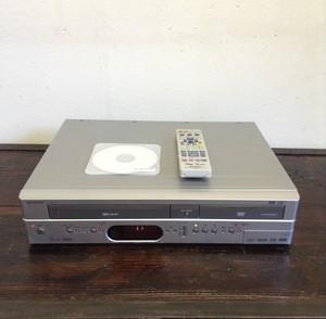 【中古品】SHARP/シャープ HDD内蔵ビデオ一体型DVDレコーダー DV-HRW40