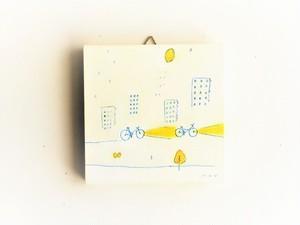 ※再販可能 アートパネル 「レモンの夜に君と行く」