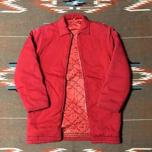 50's ビンテージ ファラオジャケット マウンテンパーカー 中綿入り 袖隠しリブ 赤