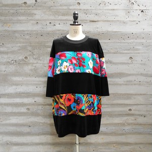 WIDE BORDER VELOR TOPS◆COLORFUL2