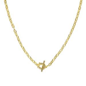 S925 Zircon Horse shoe × Mariner Necklace