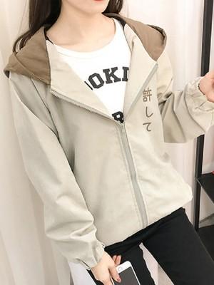 【outer】Casual wild baseball uniform thin short coat