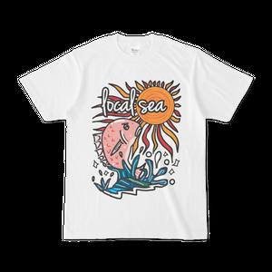 local sea真鯛Tシャツ☆オレンジ☆