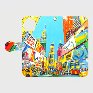 Times Square 手帳型スマホケース