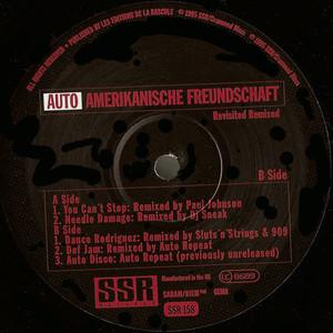 "AUTO REPEAT / Auto-Amerikanische Freundschaft (Revisited Remixed) (12"")"