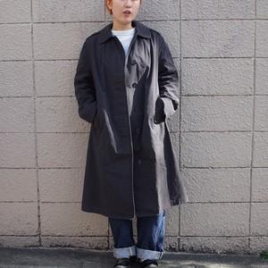 US NAVY Woman'sステンカラーコート 黒